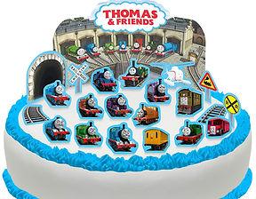 thomas the tank engine cake scene