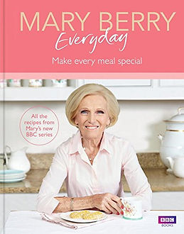 Mary Berry Everyday, mary berry books, mary berry recipe books