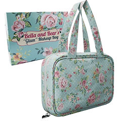 Travel Makeup Bag By Bella and Bear