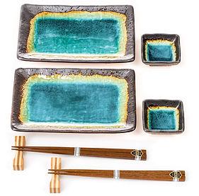 japanese plate set