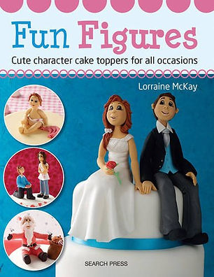fun figures cute characters, sugarcraft books, sugarcraft ideas, best sugarcraft books, easy sugarcraft books, sugarcraft cake books, sugarcraft designs, home baking gifts, baking gifts, gifts for bakers, baking presents