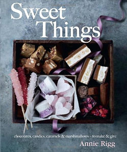 sweet things annie rigg, sweet making books, sweet making recipe books, sweet recipe books, how to make sweets, confectionery books, confectionery recipe books, books for sweet makers, home baking gifts, gifts for bakers, baking presents, baking gifts
