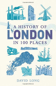 a history of london in 100 places, london history books, history of london books, best london history books, new london history books, london map books, books about london, historical books about london, travel presents, travel gifts