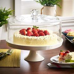 cake domes, glass cake domes, plastic cake domes, uk cake domes, stylish cake domes