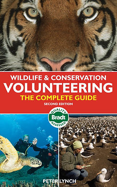 volunteering books, volunteering overseas books, books for volunteers, guides for volunteers, best books for volunteers, volunteering abroad ideas, volunteerring abroad books, travel presents, travel gifts, Wildlife & Conservation Volunteering