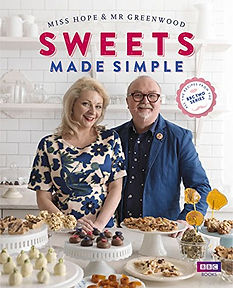 sweets made simple, sweet making books, sweet making recipe books, sweet recipe books, how to make sweets, confectionery books, confectionery recipe books, books for sweet makers, home baking gifts, gifts for bakers, baking presents, baking gifts