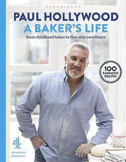 paul hollywood a baker's life, bread books
