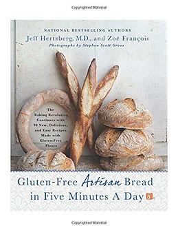 Gluten-Free Artisan Bread in Five Minutes a Day, gluten free bread recipes