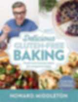howard middleton Delicious Gluten-Free Baking, gluten free baking books