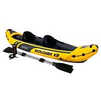 Intex Explorer K2 Kayak, inflatable kayaks, best inflatable kayaks, top inflatable kayaks, family inflatable kayaks, inflatable kayaks for 2, travel presents travel gifts, inflatable kayaks for 4, cheap inflatable kayaks