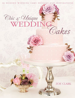 Chic & Unique Wedding Cakes, wedding cake books, gifts for home bakers