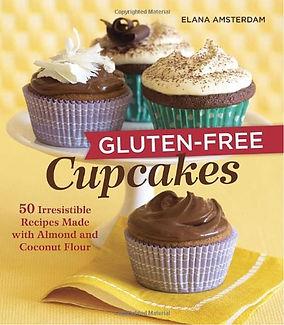 gluten free cupcakes elana amsterdam, gluten free recipe books, gluten free baking books, home baking gifts, gifts for bakers, baking presents