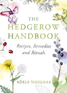 books for foragers, foraging books, hedgerow books, how to forage books