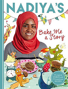 nadiya's bake me a story, children's baking books, baking books for children, baking books for kids, best baking books for children, easy baking recipes for children, popular baking books for children, nadiya hussain, home baking gifts, baking gifts