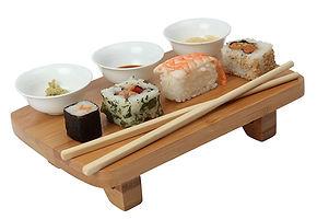 sushi serving platter