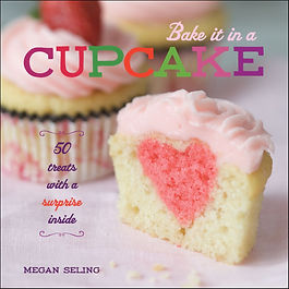 bake it in a cupcake, cupcake books, cupcake recipes, baking gifts, gifts for bakers