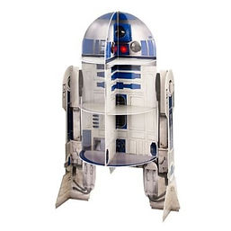R2D2 cupcake stand, cupcake star wars stand, star wars cupcake stand, gifts for bakers, baking presents, home baking gifts