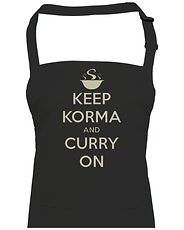 novelty curry apron
