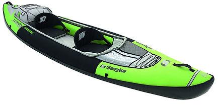 Sevylor Yukon Touring Kayak, inflatable kayaks, best inflatable kayaks, top inflatable kayaks, family inflatable kayaks, inflatable kayaks for 2, travel presents travel gifts, inflatable kayaks for 4, cheap inflatable kayaks
