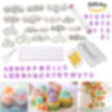 cake decorating kit, gifts for cake decorators