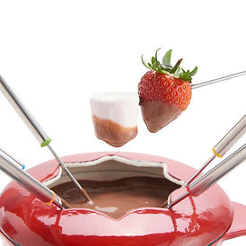 marshmallow fondue set, marshmallow gifts, home baking gifts