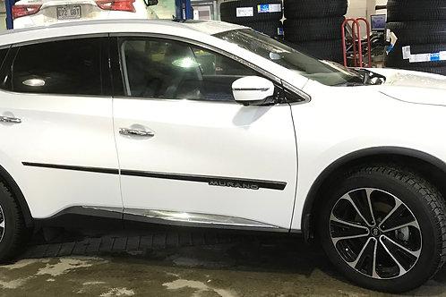 Nissan Murano (2017-21) - Moulures latérales