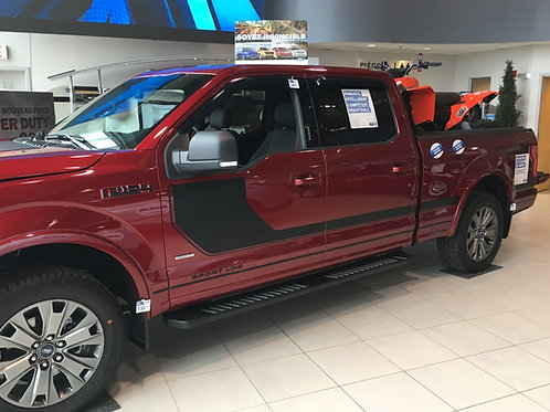 Ford F-150 (2017-21) - Moulures latérales