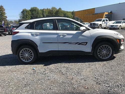 Hyundai Kona (2018-21) - Moulures latérales
