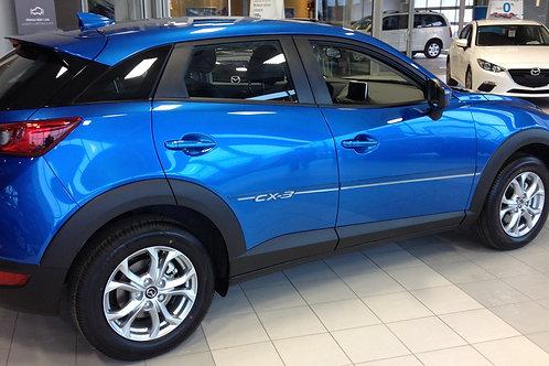 Mazda CX-3 (2017-21) - Moulures latérales