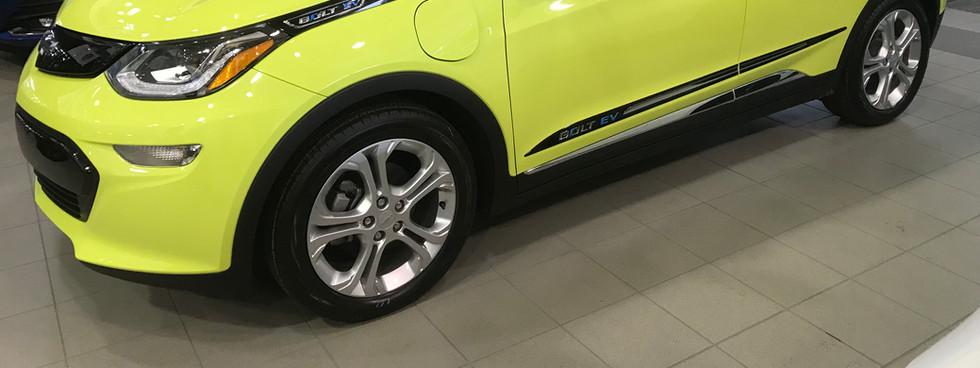 Moulure bas de porte pour Chevrolet Bolt