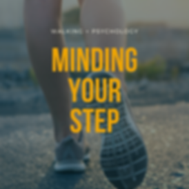 Minding Your Step blog