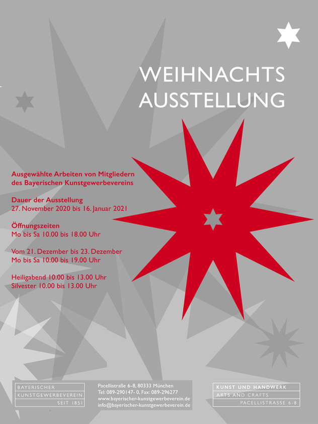 Weihnachtsausstellung Bayerischer Kunstgewerbeverein