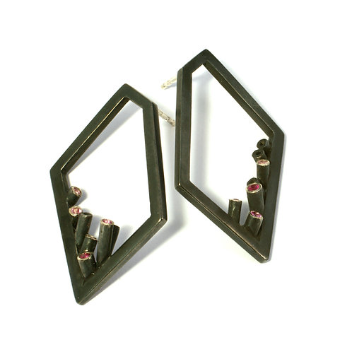 Earstuds Frames with Blossom