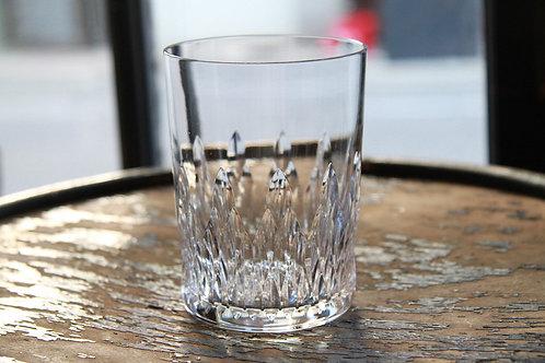 "BACCARAT ROCK GLASS Baccarat × Tiffany & Co. ""Nemours"""