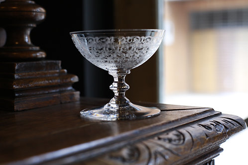 BACCARAT CHAMPAGNE COUPE    ROHAN