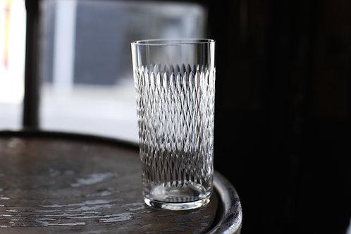 BACCARAT MAGENTA  TUMBLER  GLASS    LL
