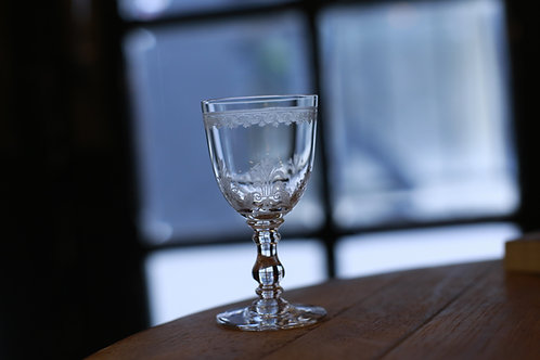 """BACCARAT  GLASS  M """" OSTENDE"""""""