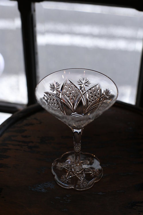 BACCARAT CHAMPAGNE COUPE    ELBEUF