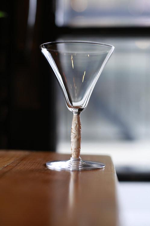 """RENE LALIQUE  GLASS  M  """"Logelbach"""""""