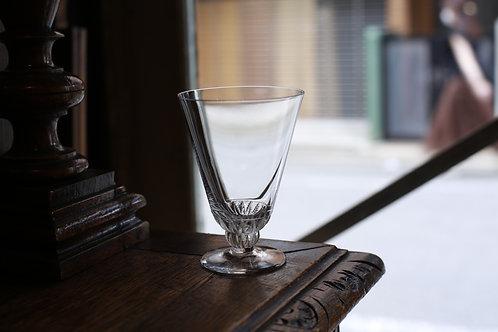 LALIQUE WINE  GLASS  M  CHAMPIGNY