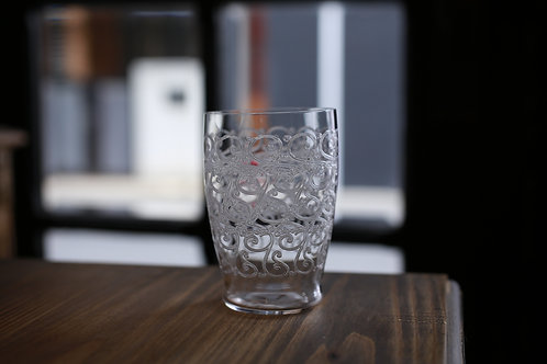 BACCARAT GLASS TUMBLER  L    ROHAN