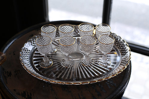 BACCARAT LIQUOR GLASS  SET