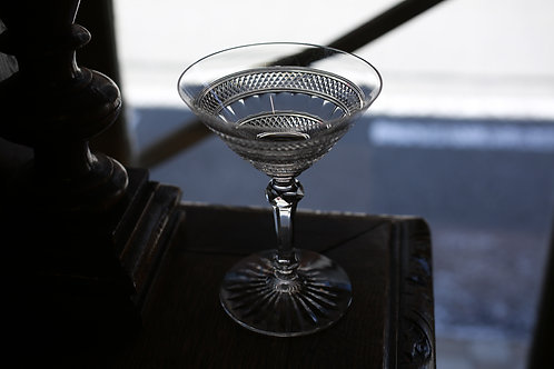 BACCARAT CHAMPAGNE  COUPE GLASS