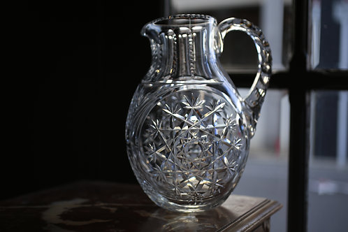 BACCARAT GLASS PITCHER   MANDARIN