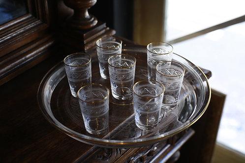 BACCARAT GLASS  SET   ATHENIAN