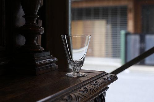 LALIQUE WINE  GLASS  MS  CHAMPIGNY
