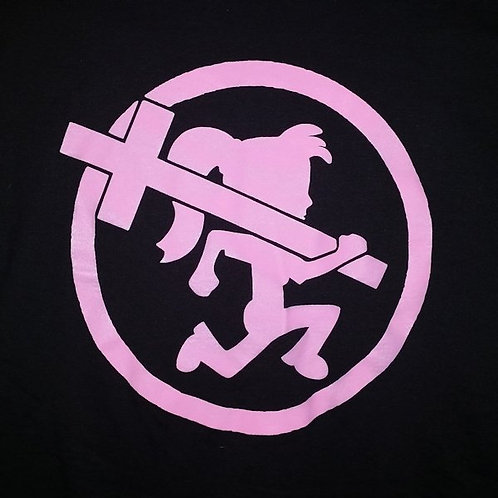 Pink/Black CrossGirl Shirt