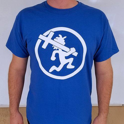 White/Blue Crossman Shirt