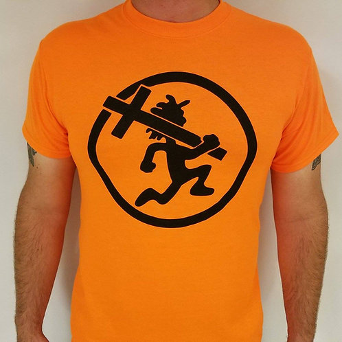 Black/Safety Orange Crossman Shirt
