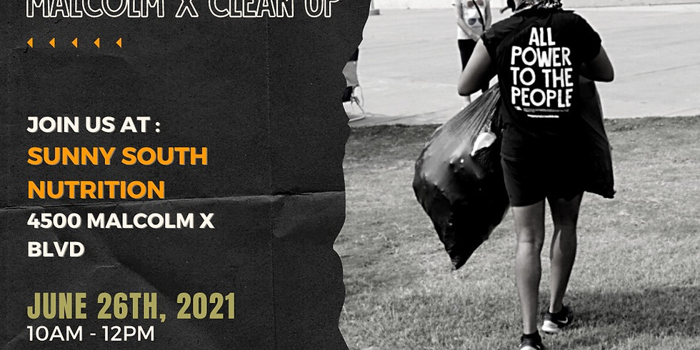 THE GREEN PROJECT: Malcolm X Clean-Up